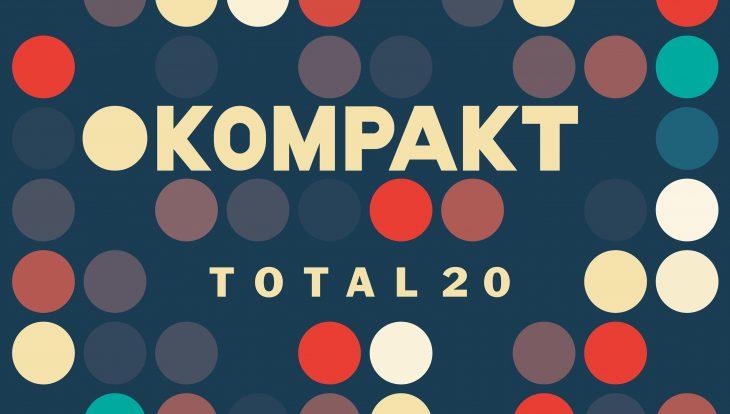 Hier sieht man das Cover der Kompakt-Compilation Total 20